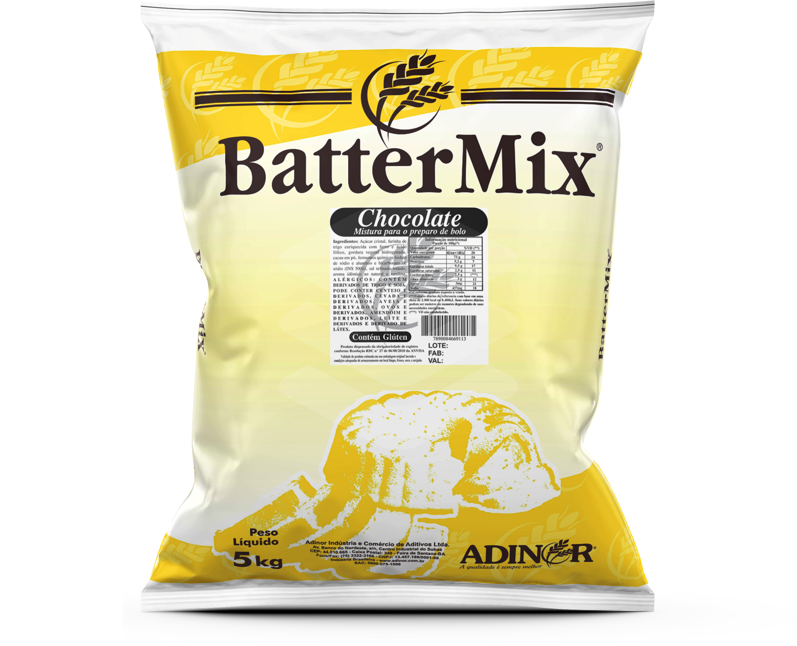 Battermix Chocolate